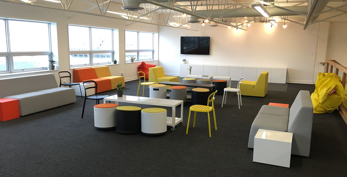 Pull up a chair and make yourself at home in our new event space.
